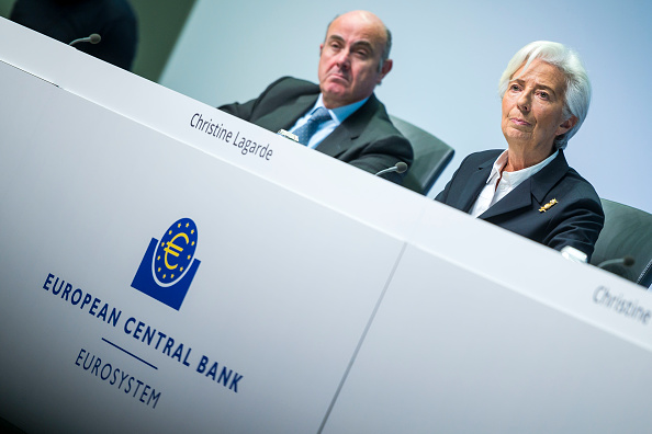 European Central Bank「Christine Lagarde Holds Press Conference Following ECB Governing Council Meeting」:写真・画像(19)[壁紙.com]