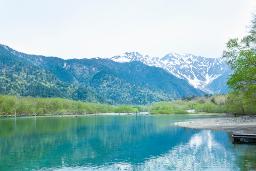 Summer Resort「Mount Hodaka and Taisyo pond」:スマホ壁紙(6)