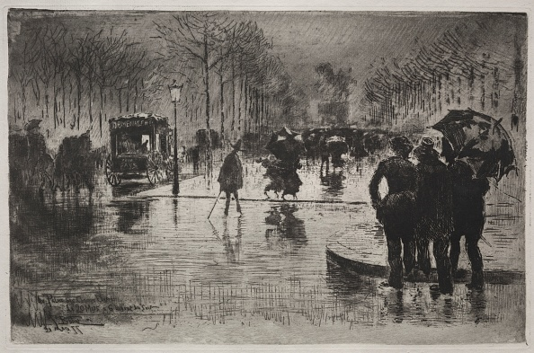 Etching「Artists Returning From The Salon」:写真・画像(14)[壁紙.com]