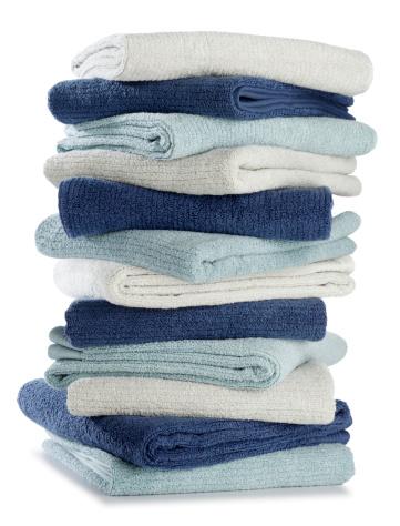 Laundry「Folded Stack of Pastel Bath Towels」:スマホ壁紙(13)