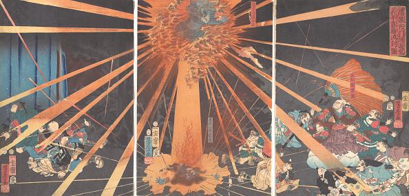 Month「The Ghost Of Akugenta Taking Revenge On Nanba At The Nunobiki Waterfall」:写真・画像(18)[壁紙.com]