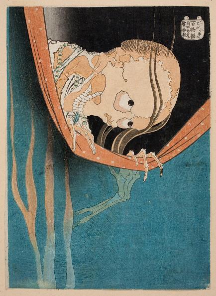 日本「The Ghost Of Kohada Koheiji (From One Hundred Stories) 1831」:写真・画像(1)[壁紙.com]