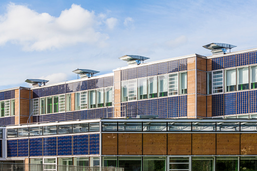 Solar Energy「Germany, Geislingen an der Steige, energy efficient reconstruction of a school building」:スマホ壁紙(5)