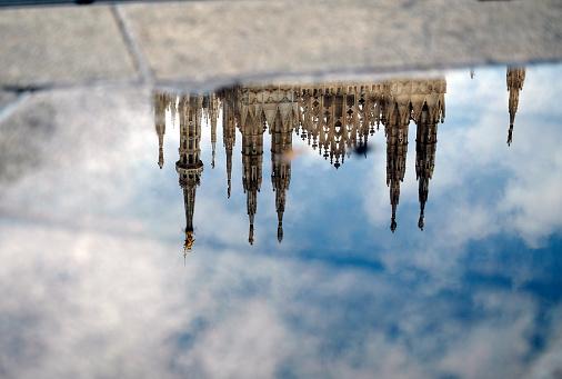 Piazza Del Duomo - Milan「The Milano's dome after the rain」:スマホ壁紙(13)