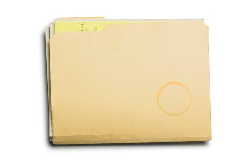 Letter - Document「Manila Folder & Coffe Stain」:スマホ壁紙(3)