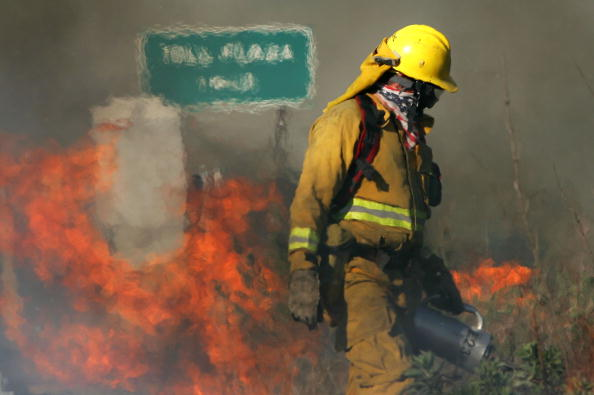 California State Route 1「Wildfire Spreads In Southern California」:写真・画像(19)[壁紙.com]
