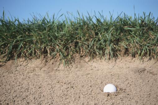 Sand Trap「Golf ball in sand trap」:スマホ壁紙(11)