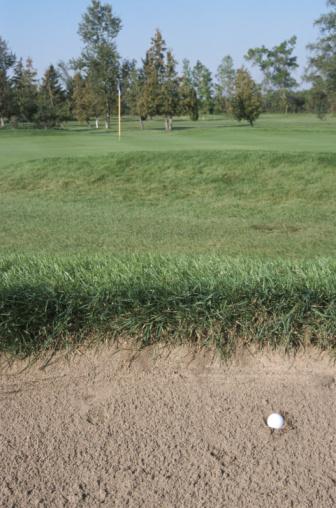 Sand Trap「Golf ball in sand trap」:スマホ壁紙(5)