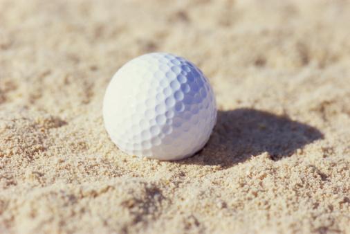 Sand Trap「Golf ball in sand trap」:スマホ壁紙(2)