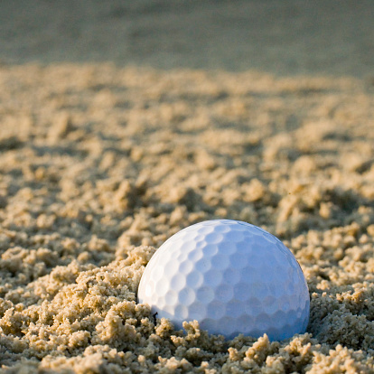 Sand Trap「Golf ball in sand trap」:スマホ壁紙(7)