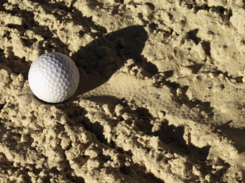 Sand Trap「Golf ball in hole, extreme close-up」:スマホ壁紙(11)