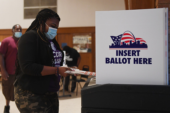 Missouri「Democratic Congressional Candidate Cori Bush Votes In Missouri's Primary Election」:写真・画像(0)[壁紙.com]