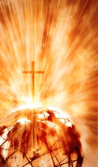Preacher「The cross shining on the globe」:スマホ壁紙(9)