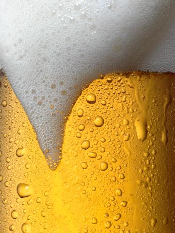 Close-up「Draft beer」:スマホ壁紙(13)