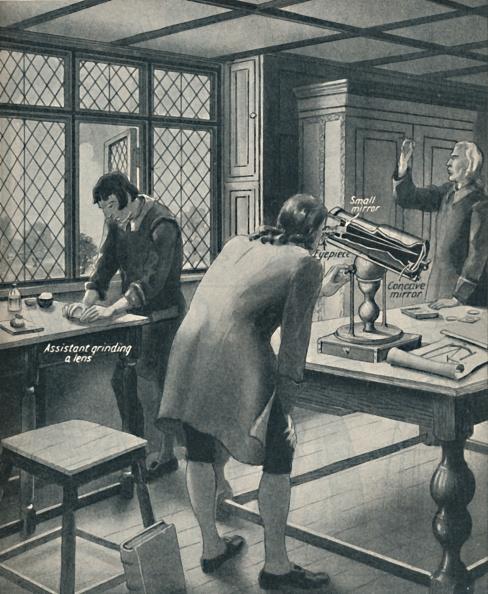 Grinding「Newton Invents A New Telescope」:写真・画像(14)[壁紙.com]
