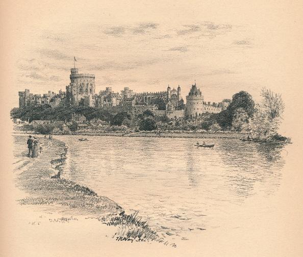 Water's Edge「'Windsor Castle From The River', 1902」:写真・画像(8)[壁紙.com]