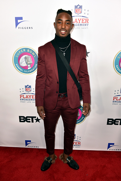 Full Suit「BET Super Bowl Gospel - Red Carpet」:写真・画像(18)[壁紙.com]