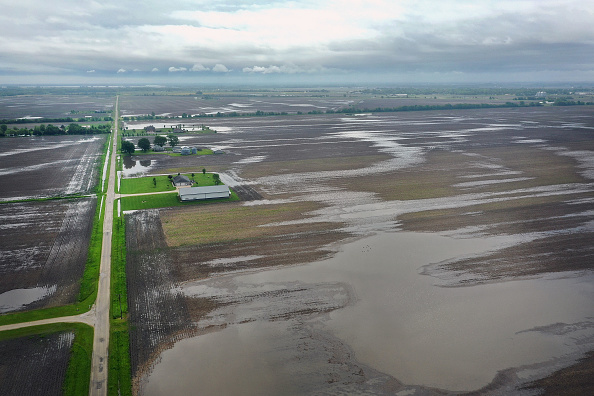 Agricultural Field「Midwest Flooding Threatens Planting Season For Many Farmers」:写真・画像(12)[壁紙.com]