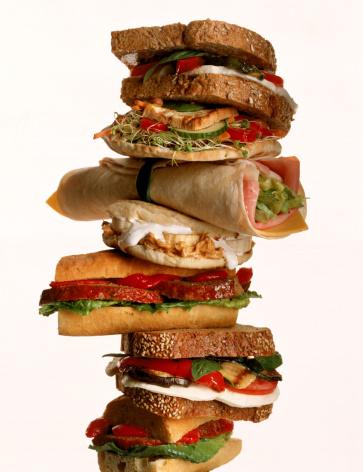 Choosing「Tower of sandwiches」:スマホ壁紙(11)