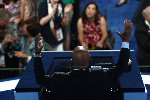 Rear View「Democratic National Convention: Day Two」:写真・画像(12)[壁紙.com]