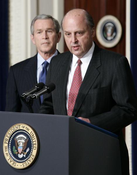 Eisenhower Executive Office Building「President Bush Names Negroponte As New Intelligence Director」:写真・画像(11)[壁紙.com]