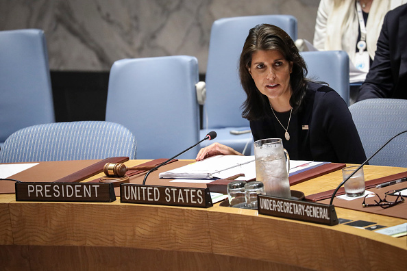 United Nations Building「Nikki Haley Chairs UN Security Council Meeting On North Korea Sanctions」:写真・画像(11)[壁紙.com]
