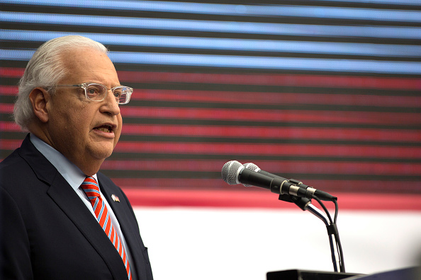 David Friedman「U.S. Embassy Formally Opens In Jerusalem On 70th Anniversary Of State Of Israel」:写真・画像(2)[壁紙.com]