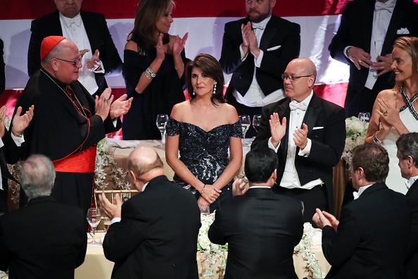 Gratitude「Nikki Haley Honored At Annual Alfred E. Smith Memorial Foundation Dinner」:写真・画像(2)[壁紙.com]