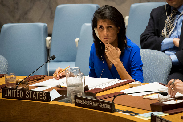 Politics and Government「United Nations Security Council Holds Emergency Meeting On Syria」:写真・画像(7)[壁紙.com]