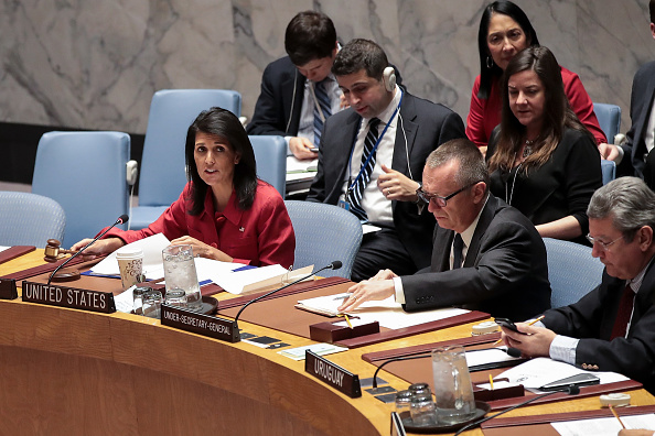 United Nations Building「United Nations Security Council Meets To Discuss Recent U.S. Airstrikes In Syria」:写真・画像(11)[壁紙.com]