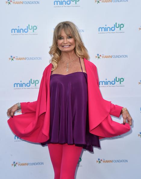 カメラ目線「Goldie Hawn Hosts Annual Goldie's Love In For Kids - Arrivals」:写真・画像(17)[壁紙.com]