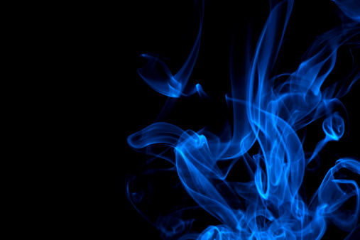 Flame「blue, creative abstract vitality impact smoke photo」:スマホ壁紙(9)