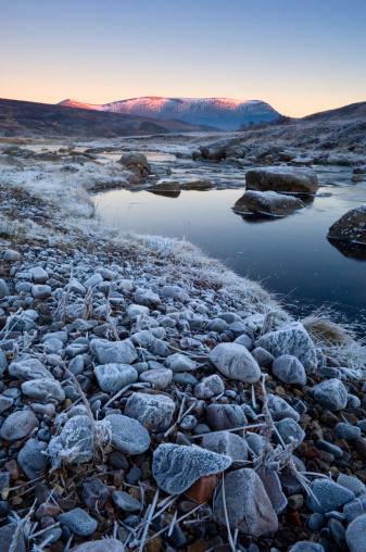 Frozen「Ben Wyvis at sunset」:スマホ壁紙(7)