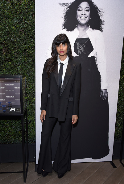 Necktie「ELLE's 25th Annual Women In Hollywood Celebration Presented By L'Oreal Paris, Hearts On Fire And CALVIN KLEIN - Hearts On Fire」:写真・画像(9)[壁紙.com]