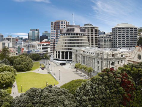 2008「Aerial view of The Beehive and NZ Parliament House」:スマホ壁紙(12)