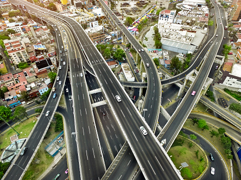 Avenue「Aerial view of Mexico City highways」:スマホ壁紙(17)