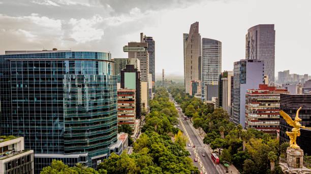 Aerial view of Mexico City:スマホ壁紙(壁紙.com)