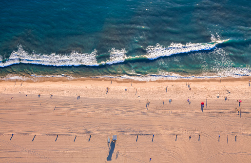 Santa Monica「Aerial View of Santa Monica Beach」:スマホ壁紙(14)