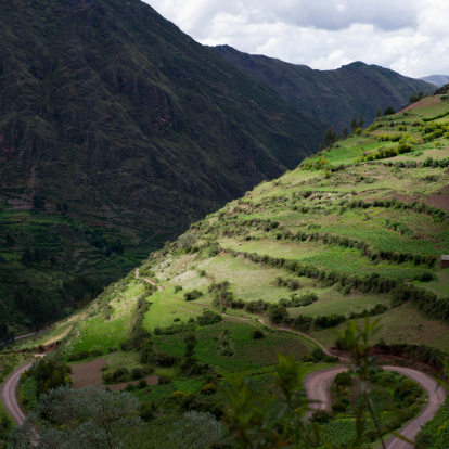 UNESCO「aerial view of sacred valley」:スマホ壁紙(10)