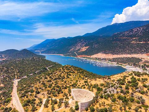 Summer Resort「Aerial View of Kaş, Antalya」:スマホ壁紙(17)