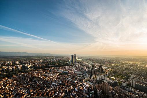 Madrid「Aerial view of Madrid, Spain」:スマホ壁紙(6)