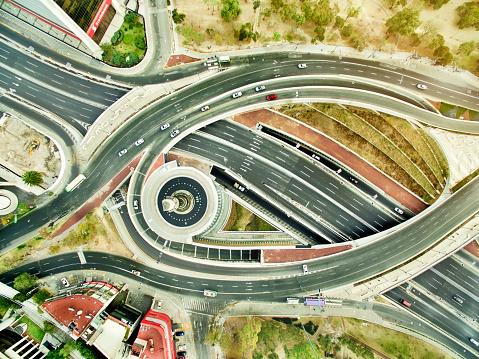 Avenue「Aerial view of freeways in Mexico」:スマホ壁紙(18)