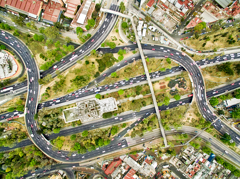 Avenue「Aerial view of freeways in Mexico」:スマホ壁紙(19)