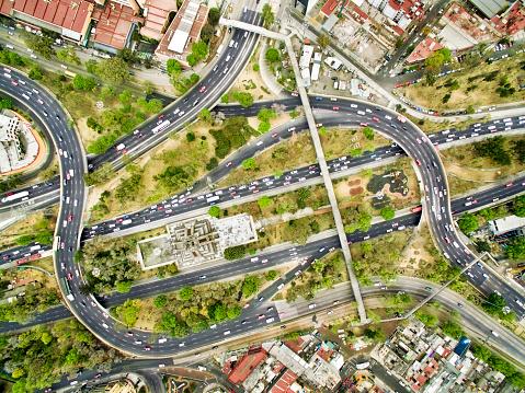 Avenue「Aerial view of freeways in Mexico」:スマホ壁紙(17)