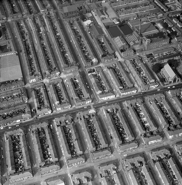 Row House「Aerial View Of Terraced Houses」:写真・画像(18)[壁紙.com]