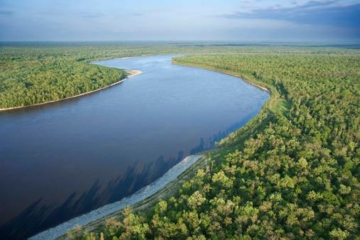 Louisiana「Aerial view of river in Lafayette, Louisiana」:スマホ壁紙(14)
