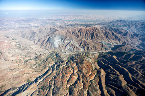star sky「Aerial View of Mountains in the Desert」:スマホ壁紙(12)