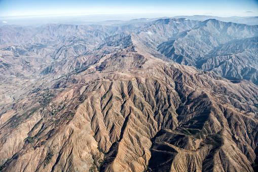 star sky「Aerial View of Mountains in the Desert」:スマホ壁紙(18)