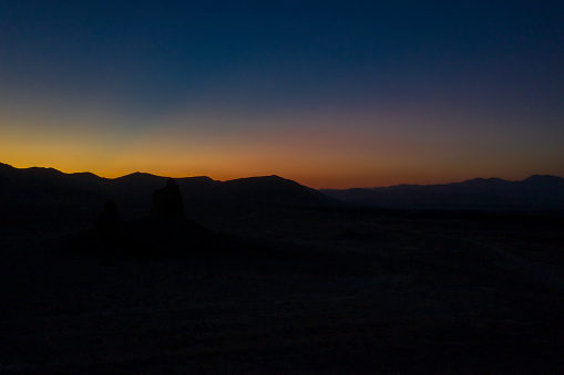 4K解像度「Aerial view of desert and Trona Pinnacles」:スマホ壁紙(19)