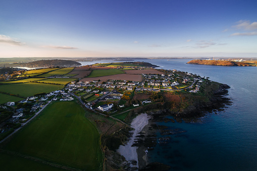 County Cork「Aerial view of Crosshaven, Cork Harbor, Ireland」:スマホ壁紙(6)
